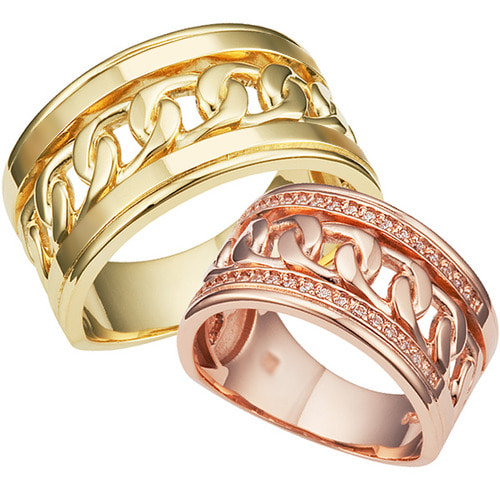 CL69430 켄달민 Yellow & Pink Gold